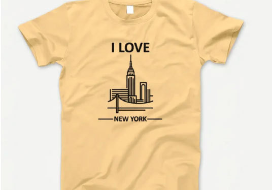 design awesome and trendy t-shirt