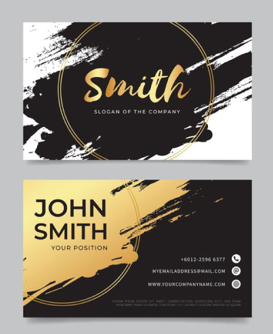 I will Design Outstanding Business Card Design Print Ready