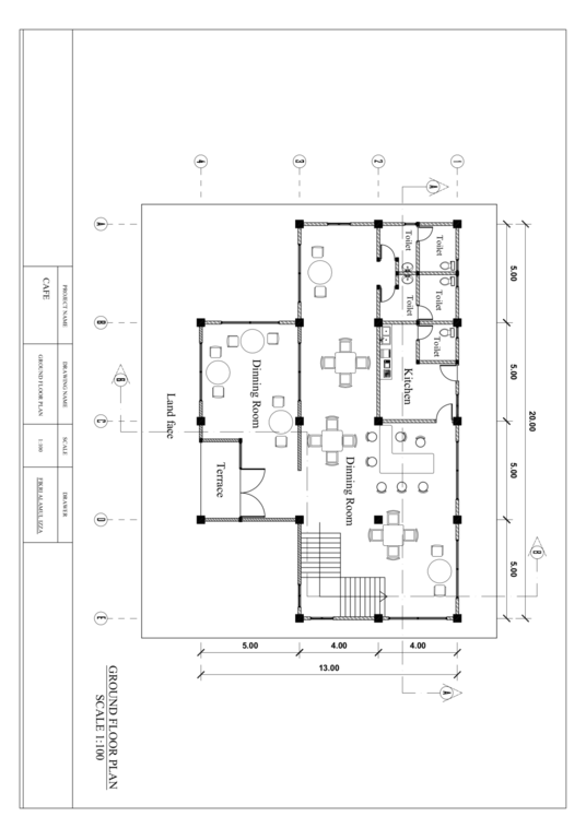 I will design a professional  2d floor plan in auto cad
