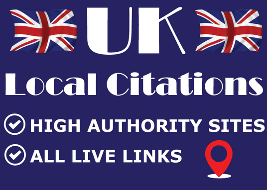 I will Do 80 Best UK Local Citations  to Boost your SEO