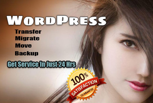 I will transfer, migrate, move or backup WordPress website in 24 hrs