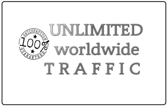 I will drive unlimited  worldwide web traffic  from Social Media Networks
