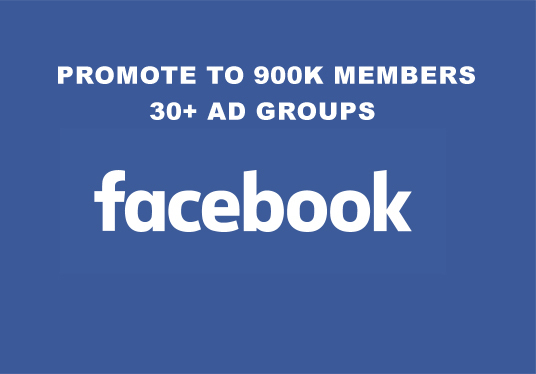 I will promote your Business, Product or Website to 30+ Advertising/Marketing FB groups having 90