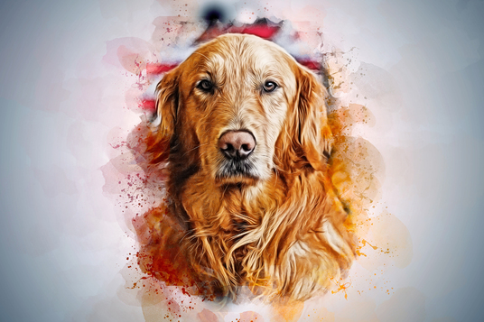 I will  draw realistic watercolor art  of your pet
