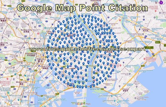 I will rank local business with 1000 Google map point citation