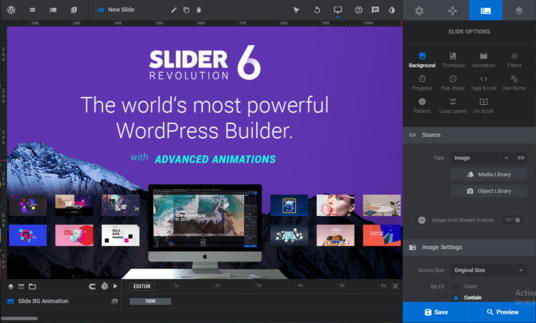 I will create slider revolution 6 and fix revolution slider, website slider