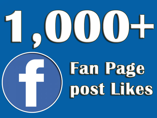 I will Provide 1000+ Facebook Page Likes