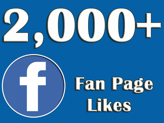 I will give you 2,000+ Facebook likes