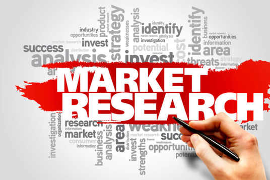 I will do market research, and industry analysis