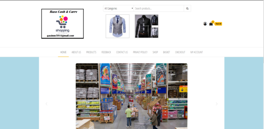 I will develop an e-commerce Website with woo-commerce