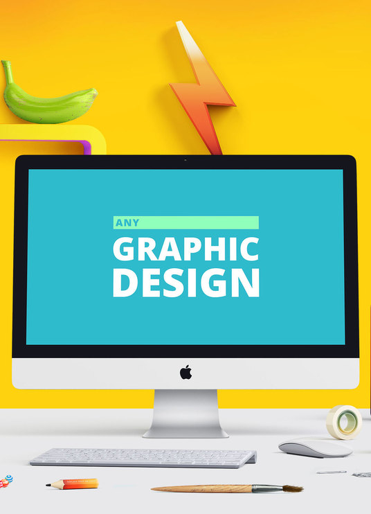 I will do any graphic design