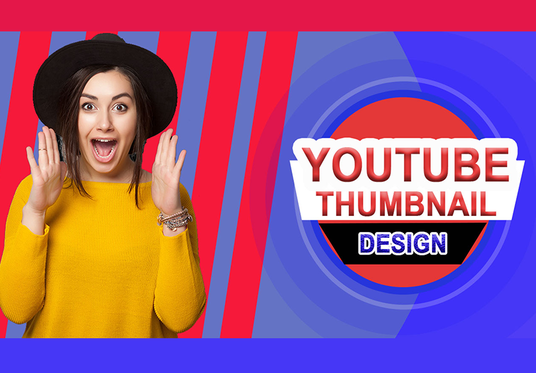 I will design amazing youtube thumbnail