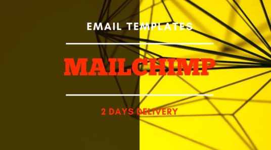 I will design beautiful email template using mailchimp