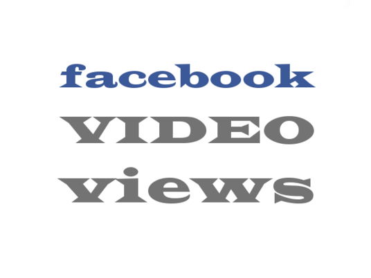 I will provide 3000 Facebook Video Views