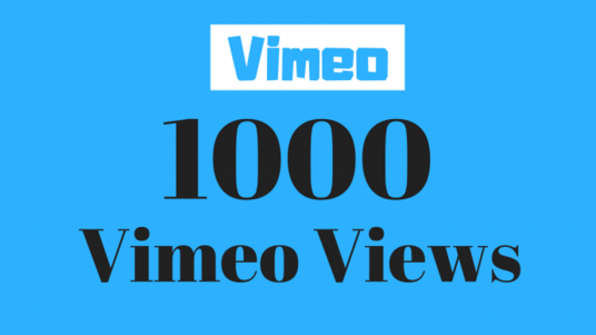 I will Give 1000+ Vimeo Genuine   Views