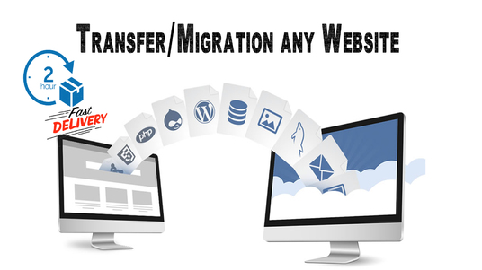 I will Move, transfer, migrate or backup your website within 24 hours