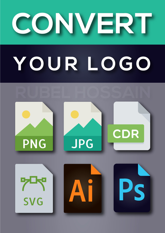 I will convert logo or image to vector ai, eps, pdf, svg, cdr