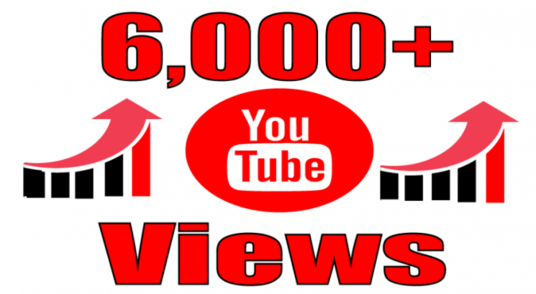 Provide 6000+ Youtube Video Non-drop Views and 65+ likes. Cheap and Effective Promotion!