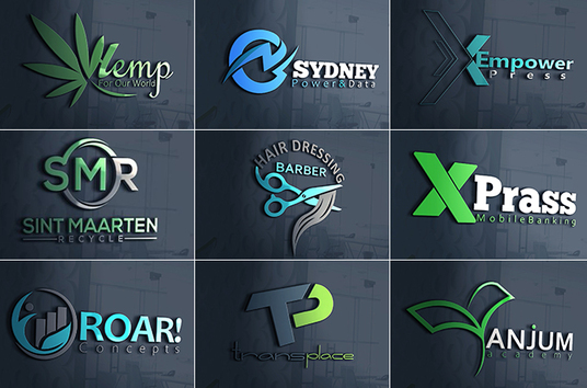 I will design bespoke logo with unlimited concept