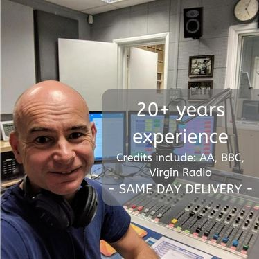 deliver your professional UK voice over today, friendly and natural