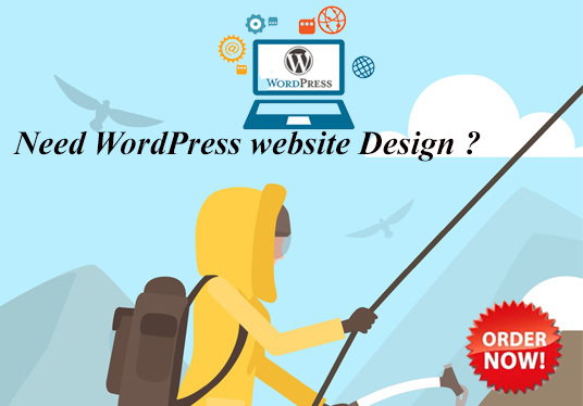 I will create a professional Wordpress website design for growing your business