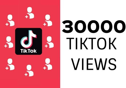 I will provide fast 30k TIKTOK Videos views