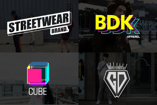 I will do the logo design for urban streetwear brands