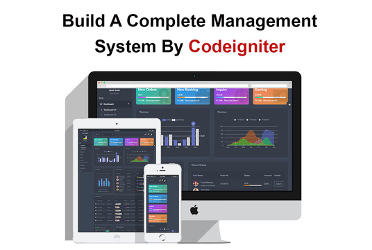 I will make a complete management system web application
