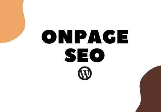I will Do perfect on page  SEO for your WordPress  website