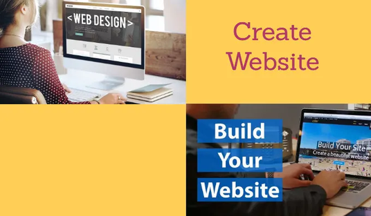 I will create responsive website for you