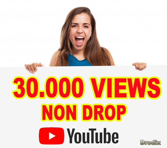 I will provide 30,000 YouTube Views Non Drop