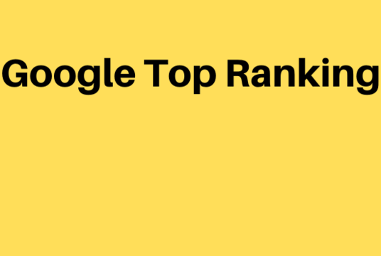 I will Bring Google Top Ranking  of Your Website and Webpage