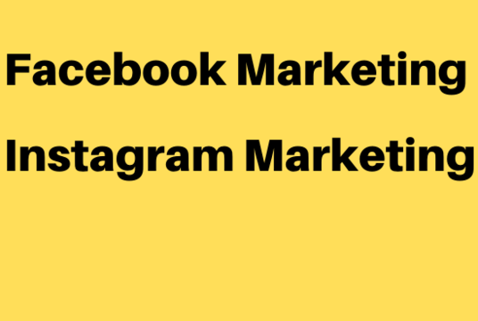 I will be your Facebook, Instagram Marketer and Promote Product Link