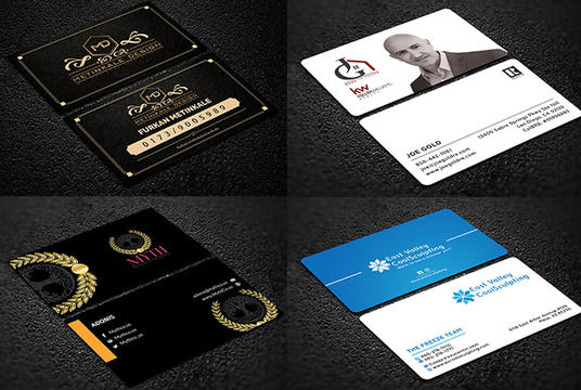 I will design a business card