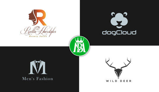 I will design a minimal modern logo with unlimited revisions