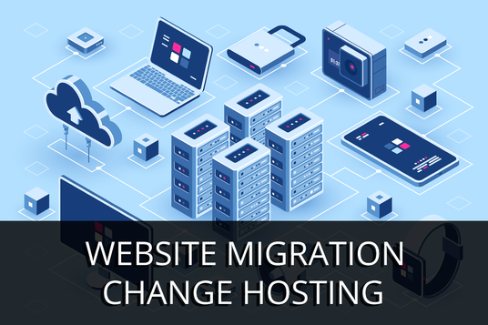 I will transfer or move your website to your new hosting server