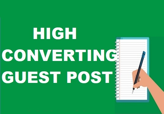 I will publish guest post on high quality blogs with dofollow link