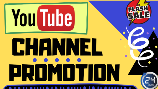 I will promote Your youtube channel To massive Audience