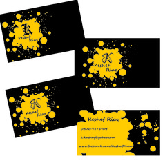 I will design a business card for you