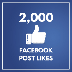 I will Give you Instant 2000 Facebook Likes on Photo, Post, Status Likes