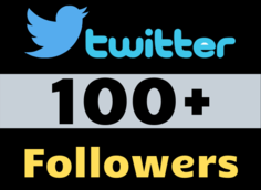I will add 100+ Twitter Followers