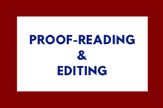I will proof-read your article, book, or document of up to 500 words
