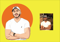 I will create your picture into a vector