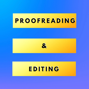 proofread and edit up to 100 words