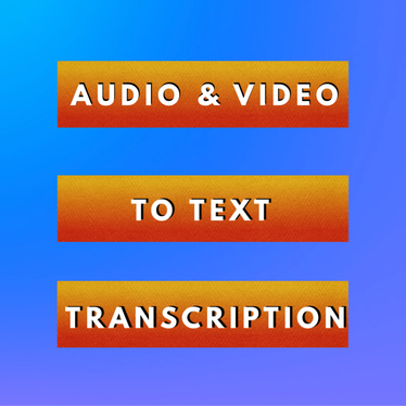 transcribe up to 30 minutes of audio or video