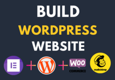 I will Design Wordpress Website or landing page