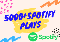 I will Provide 5000+ Spotify Plays