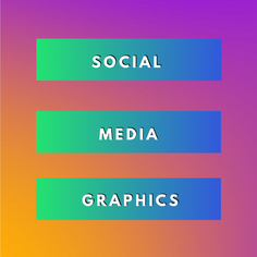 I will design a social media graphic for a platform of your choice