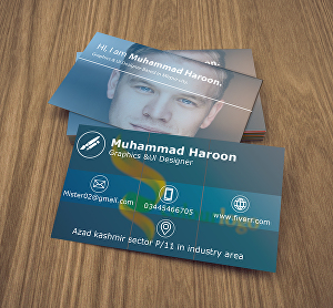 I will make modern business card for your business