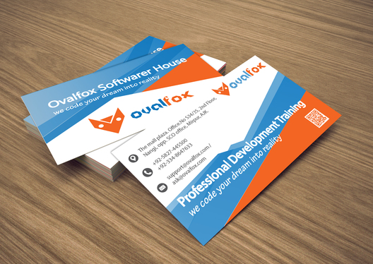 make modern business card for your business